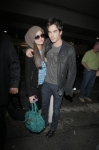 Nina and Ian at LAX