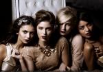Nina Dobrev / Kayla Ewell / Candice Accola / Katerina Graham / The Vampire Diaries