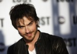 "Actor Ian Somerhalder arrives at ABC's ""Lost"" Live: The Final Celebration at UCLA Royce Hall in Los Angeles"
