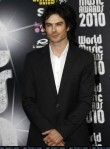 Model and actor Ian Somerhalder arrives at the World Music Awards in Monte Carlo