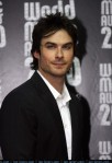 US actor Ian Somerhalder arrives to atte